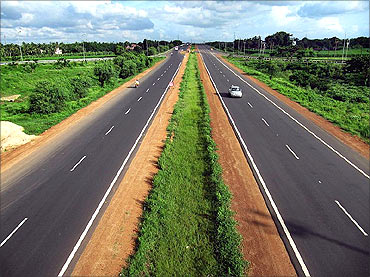 Durgapur Expressway.