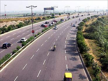Noida-Greater Noida Expressway.