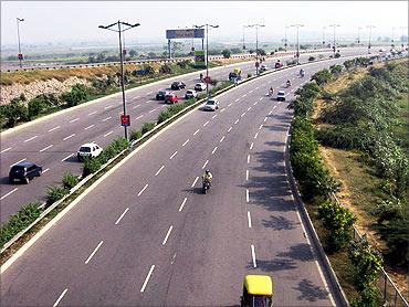 Noida-Greater Noida Expressway.