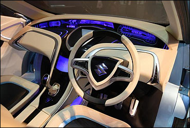 The dashboard of RIII.
