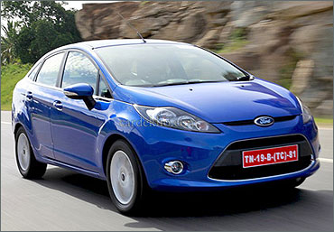 New Ford Fiesta 2011.
