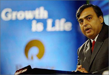 Reliance Industries Ltd Chairman Mukesh Ambani.