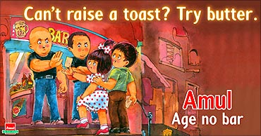 Amul ads, a big hit.