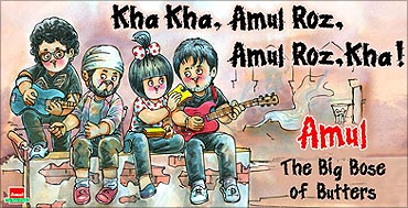 Amul is a big success.