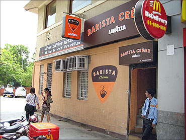 Barista Cafe.