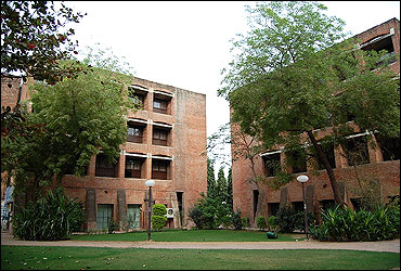 Dorms in old campus of IIM-A.