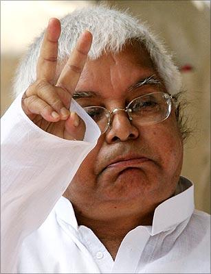 RJD supremo Lalu Prasad.