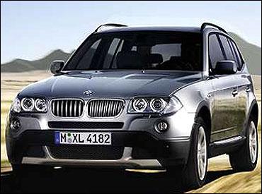New BMW X3.