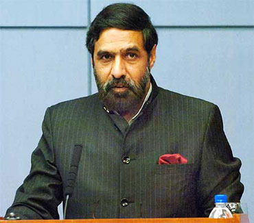 Current Commerce Minister Anand Sharma.
