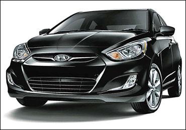 Hyundai Fluidic Verna.
