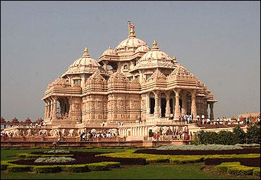 Akshardham Temple, New Delhi.