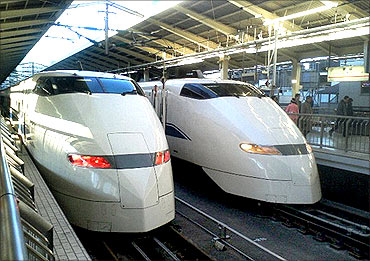 Kawasaki train.