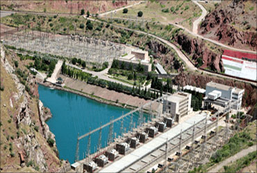 Nurek Dam.