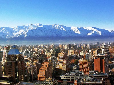 The picturesque landscape of Chile.