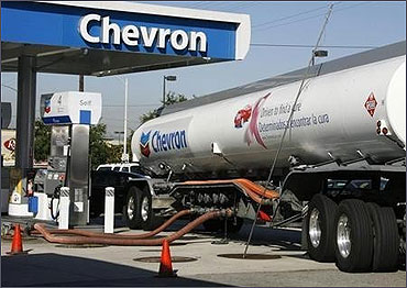 Chevron is among the world's top companies.