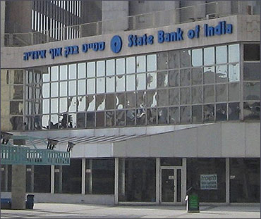 An overseas SBI branch.