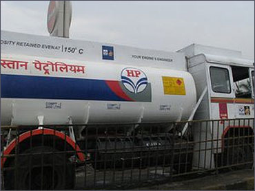 HP oil tanker.