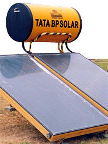 Tata BP Solar plant.