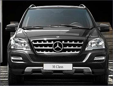 Mercedes M Class.