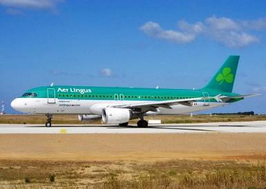 An Aer Lingus aircraft.