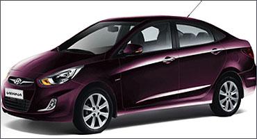 Hyundai Verna Fluidic.