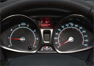 Ford Fiesta TachoMeter.