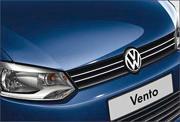 Front grille of Vento.