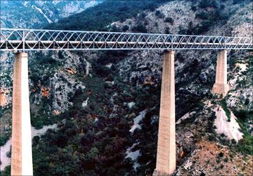 Mala Rijeka Viaduct.