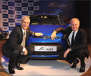 New Ford Fiesta launched.