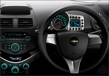 Chevrolet Beat steering wheel.
