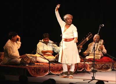 Kathak maestro Pandit Birju Maharaj.