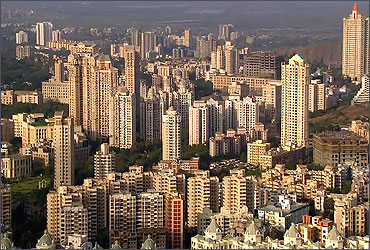 A residential area in Mumbai.