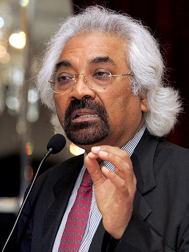 Sam Pitroda, advisor to the Prime Minister on public information infrastructure and innovations.