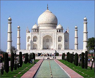 The Taj.