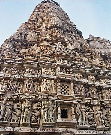 Khajuraho the cultural capital of Chandela Rajputs.