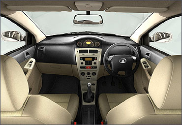 Interior view of Indica Vista.