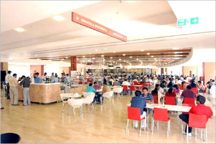 Cisco Cafeteria at its Bengaluru campus.