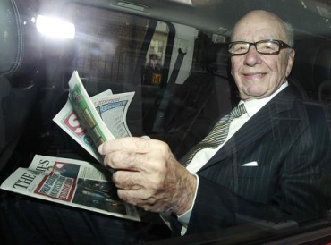 Rupert Murdoch's News Corp operates under multiple brands in India.