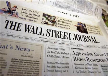 Wall Street Journal has a content partnership with Mint.