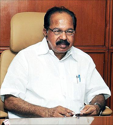 Corporate Affairs Minister Veerappa Moily.