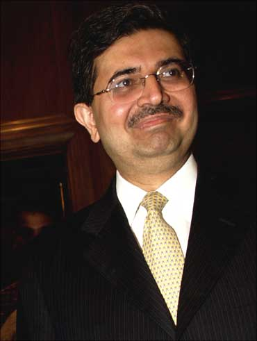 Uday Kotak owns Kotak Mahindra Bank.