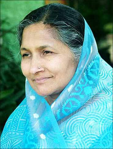 Savitri Devi Jindal heads Jindal group.