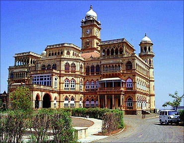 A heritage hotel in Gujarat.