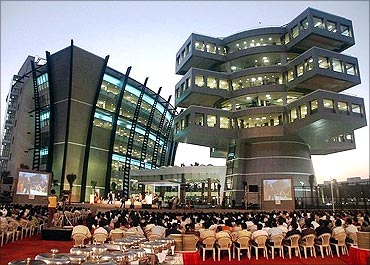 Bagmane Tech Park, Bangalore.