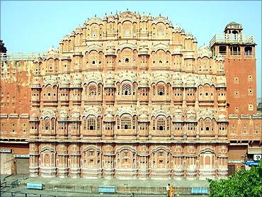 Hawa Mahal, Jaipur.