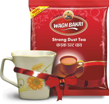 Waghbakri tea is a known name in Gujarat.