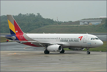Asiana Airlines.