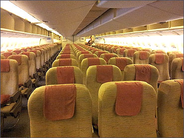 View of the Economy Class.