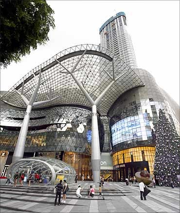 ION Orchard mall, Singapore.