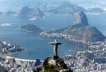 Brazil owns 1.5 per cent.
